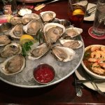 A Dozen Bluepoint Oysters and Seafood Gumbo