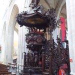 Ornate Pulpit
