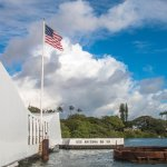 A beautiful memorial of USS Arizona