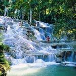 Dunns River Falls  paradisepalmsjamaicatransportation.rezgo.com