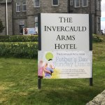Advertising Fathers Day @ the Invercauld Arms Hotel