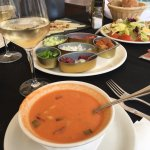 Awesome gazpacho and tapas