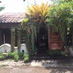 entrance of Fah lanna spa