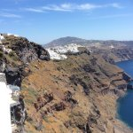 View towards Fira