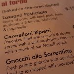 recommend the Cannelloni