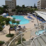 Executive Wing Pool with children's pool & water slide