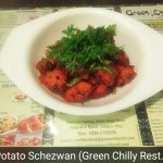 If u you in mood to have some thing delight in chinse then you must try our Pototo Schezwan.