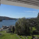 View of Windermere from the Tower Room