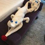 Fresh towels with a creative twist from Krishnan G Priya