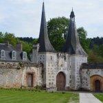 une entrée de l abbaye