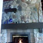 fireplace needed on May 19th! 39 degrees outside!