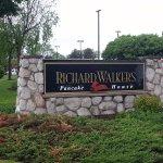 street sign for Richard Walker's Pancake House