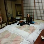Futons and Rice Mats on the floor