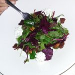 Insolata verde Con fragola (Salad with berries)
