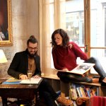 Nicole and Sylvain, the Kool couple, worked in our reading room