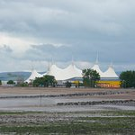 Butlins Minehead in the distance