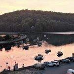 sunset on Looe River