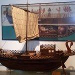 An Egyptian ship