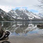 View across Jenny Lake