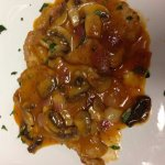 Veal marsala with mushrooms