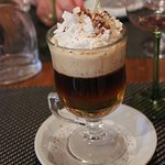 Un succulent Irish Coffee