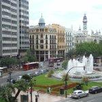 Vista de Plaza del Ayuntamiento desde el Hotel