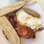 Delicious English Breakfast Option