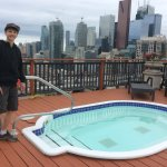 Rooftop Terrace with Hot Tubs