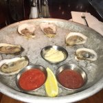 Oysters--ask your server for the different kinds