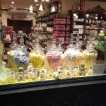 vitrine de bonbons