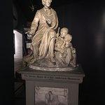 Statue of HC Andersen storytelling