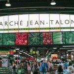 Entrée du marché Jean-Talon