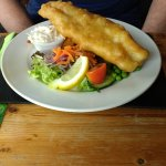 Fantastic fish and real chips!