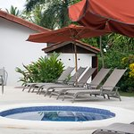 Outdoor Jacuzzi (By the pool)