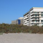 View of Hampton Inn from Cocoa Beach