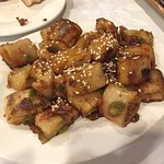 Sauteed Rice Noodle roll with XO Sauce XO 腸粉