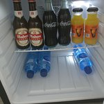 Mini-bar with complimentary drinks