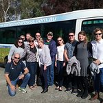 Our group on our fantastic tour. Great bunch of people having a great time (JR on his knees)