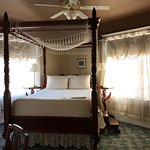The Franz Huning room. The bed was very high. I needed the step that was provided.