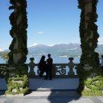 La terrazza usata normalmente per matrimoni..