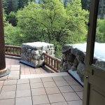 Presidential Suite - steps down to patio/deck
