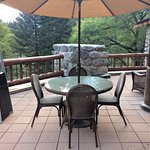 Presidential Suite patio/deck