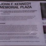 signage about memorial