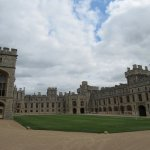 Private area of Windsor castle