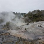 Orakei Korako meets Waikato River