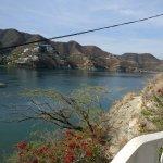 Vista desde el Hotel Bahía Taganga