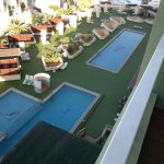 view over pool from 810