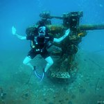 Shipwreck dive, following my open water license completion.
