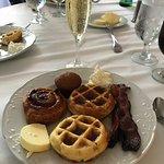 The breakfast part