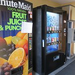 "Vending machines are the sole nutritional option, and juices are ""out of order"""
